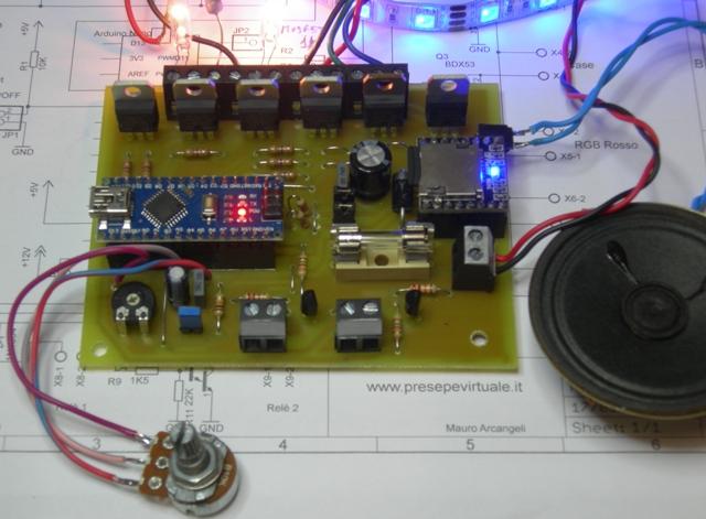 Schema Elettrico Giorno Notte Presepe : Forum del presepio elettronico multimediale il primo e