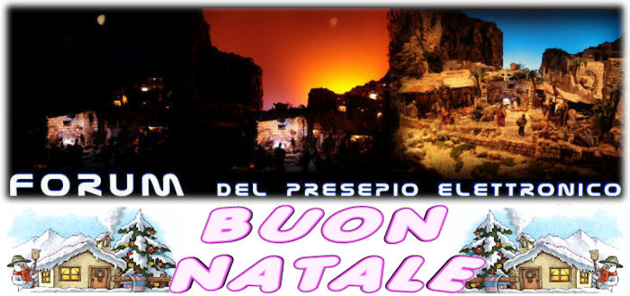 Forum del Presepio Elettronico Multimediale (Il primo e unico)
